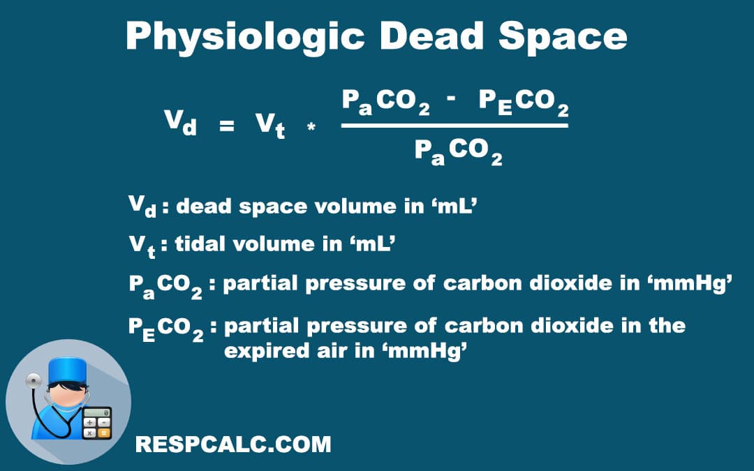 Physiologic Dead Space Calculation